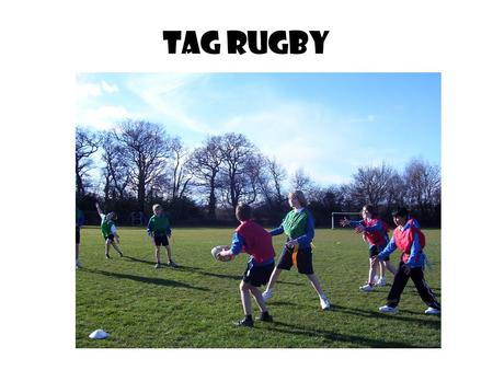 Tag Rugby.