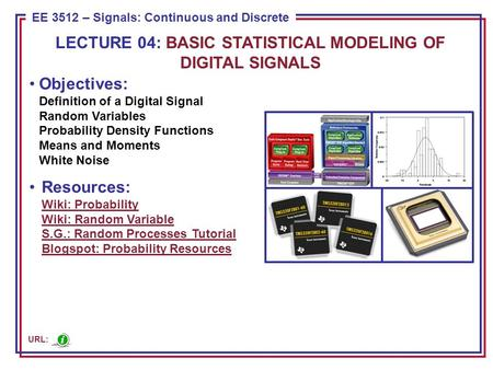 Introduction to Digital Signals