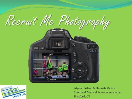 RecruitMe Photography Recruit Me Photography Alyssa Carlson & Hannah McKee Sport and Medical Sciences Academy Hartford, CT.