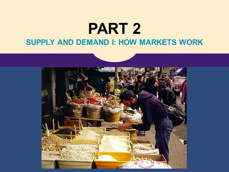 PART 2 SUPPLY AND DEMAND I: HOW MARKETS WORK. Copyright © 2006 Nelson, a division of Thomson Canada Ltd. 4 The Market Forces of Supply and Demand.