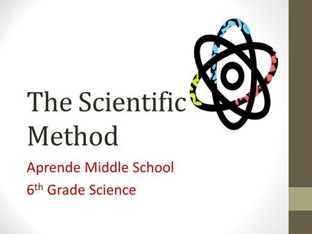 Aprende Middle School 6th Grade Science