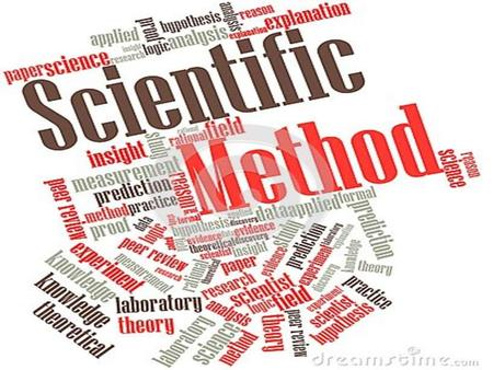 The Scientific Method. Every science experiment begins with a That's Step ONE !