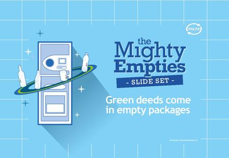 Green deeds come in empty packages