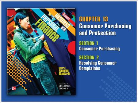 Consumer Purchasing and Protection