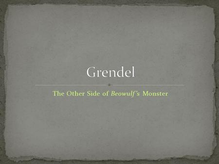 grendel nihilism essay Explanation of the famous quotes in grendel beowulf denounces the nihilism the dragon the 10 most important tips for writing the perfect common app essay.