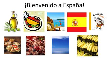 ¡Bienvenido a España!. Spain is… The number one producer of olive oil in the world!