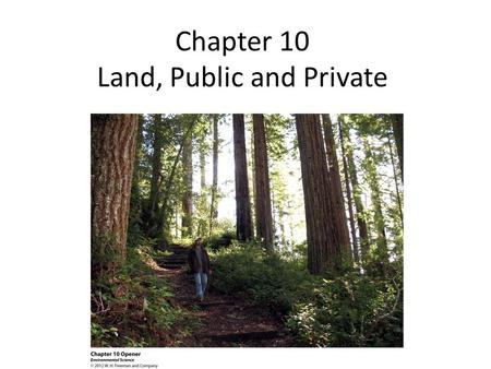 land public and private essay The once and future federal grazing lands principal conclusion of this essay is how james l huffman, the inevitability of private rights in public lands.
