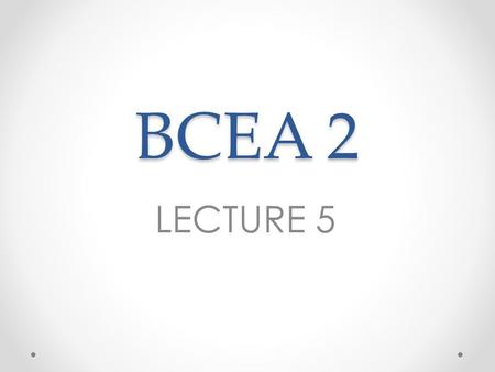 BCEA 2 LECTURE 5. Overtime Only if it is agreed between the employer and employee. Agreement valid for 1 year (if agreed within first 3 months of service).