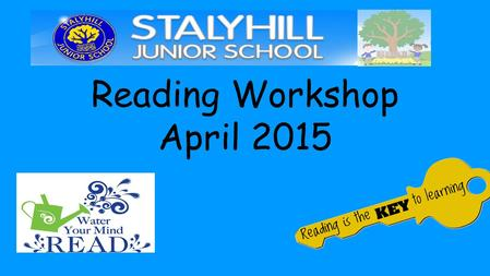 Reading Workshop April 2015