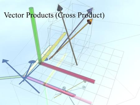 Vector Products (Cross Product). Torque F r T.