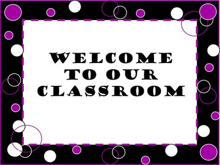 Welcome to our classroom. Independence Technology Different teaching styles Preparation for HJHS Curricular changes.