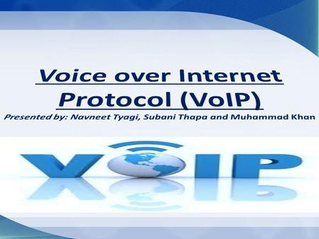 Voice Over Internet Protocol (VOIP)  Traditional Telephone System VS VOIP  How (VOIP) Works  VOIP Growing Statistics  VOIP Advantages for Households.