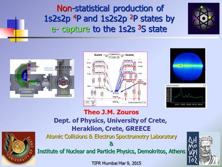 Non-statistical production of 1s2s2p 4 P and 1s2s2p 2 P states by e- capture to the 1s2s 3 S state Non-statistical production of 1s2s2p 4 P and 1s2s2p.