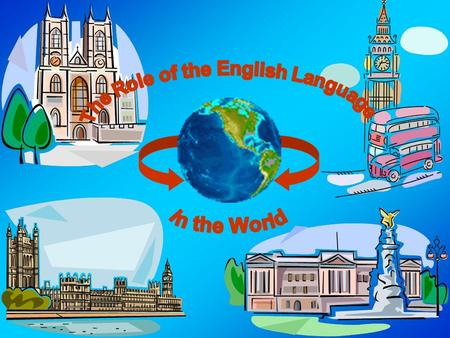 Plan: -some facts from the history of English; -why we learn English; -where we use it; -the functions of the English Language in modern society;
