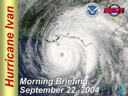 Hurricane Ivan Morning Briefing September 22, 2004.