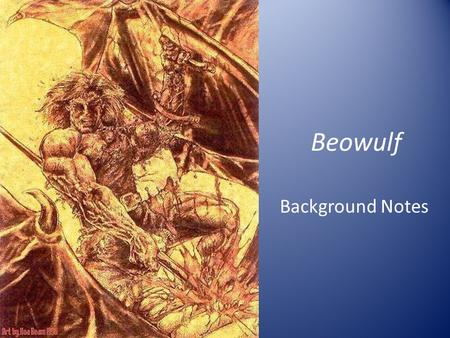 an analysis of the story of beowulf an anglo saxon epic The pagan tribes who authored the epic beowulf and the characters within the story have a unique culture there are four major parts of anglo saxon and germanic culture that is vital to understanding beowulf.