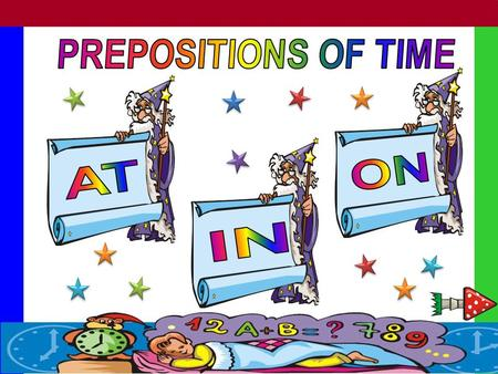 "For exact time – ""At nine o´clock."" Meal times. – "" at breakfast."" Specific parts of the day.- "" at night"" Some time expressions.- "" at the moment,"