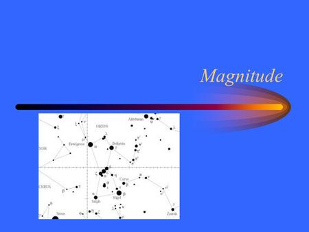 Magnitude. Seeing Stars There are about 5000 stars visible to the unaided eye on a clear moonless night. Ancient astronomers measured certain properties.