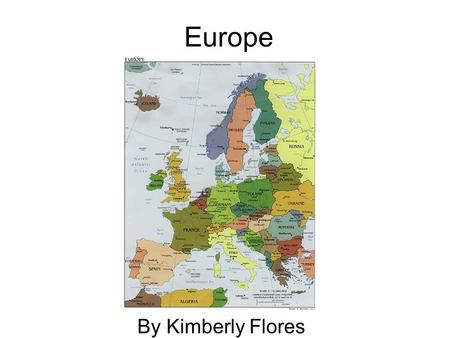 Europe By Kimberly Flores. The nightingale is a bid found only in Europe it is known for its beautiful voice.