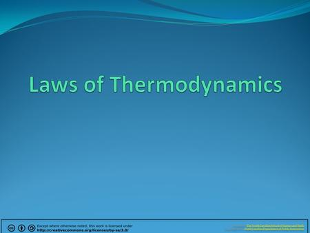 Z EROTH L AW OF T HERMODYNAMICS If two thermodynamic systems (bodies) are separately in thermal equilibrium with a third, they are also in thermal equilibrium.