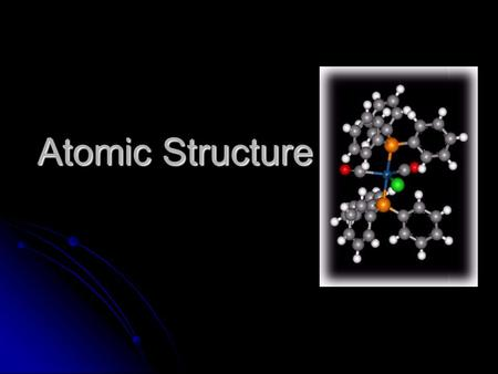 Atomic Structure Atomic Structure. Chemistry Joke Q: Where does a German chemist put his dirty dishes? A: In the Zn!