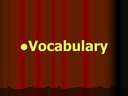 Vocabulary Vocabulary. meals: breakfast 早餐 breakfast 早餐 eg. I have breakfast before going to school. school. lunch 午餐 lunch 午餐 eg. We ate McDonald's for.