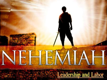 The Book of Nehemiah begins in the 20 th year of King Artaxerxes of Persia. Israel is still suffering the vestiges of God's punishment for their national.