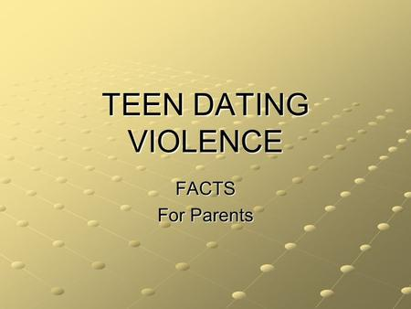 race and dating violence