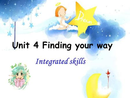 Unit 4 Finding your way Integrated skills Know the signs.
