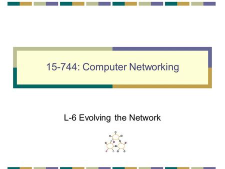 15-744: Computer Networking L-6 Evolving the Network.