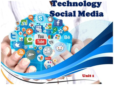 Technology Social Media Unit 1. What is Social Media? Social media is the interaction among people in which they create, share or exchange information.