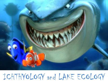 ICHTHYOLOGY and LAKE ECOLOGY. Let's Talk Lakes!!!