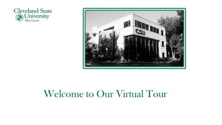 Welcome to Our Virtual Tour. Student Lounge Second Floor.