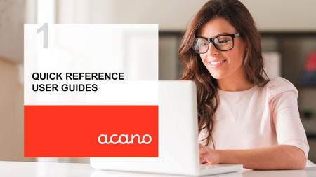 Quick reference user guides