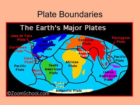 Types of plate boundar...