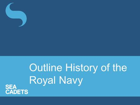 Outline History of the Royal Navy. King Alfred is credited as founder of the navy. In a battle in 897, Alfred used his ships to defeat a Viking force.