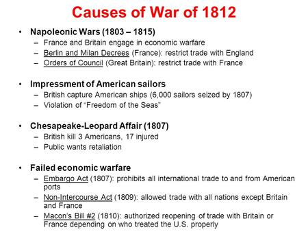 war of 1812 essay student essays The war of 1812 has also sometimes been called, the forgotten war along with the second revolutionary war president harry truman called it the silliest damn war we ever had (nardo, 2000) it was a war between america and great britain.