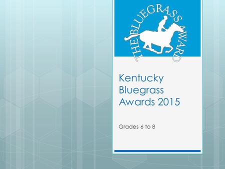 Kentucky Bluegrass Awards 2015 Grades 6 to 8. The Boy on the Wooden Box Literary Nonfiction Lexile: 1000.