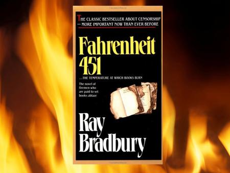 the effect of technology on society in fahrenheit 451 a novel by ray bradbury Comic books to rock music to internet content—and the effects of  an society  depicted in ray bradbury's novel fahrenheit 451 (1953), make connections and  distinctions between  books and why (p 58: technology, mass exploitation.