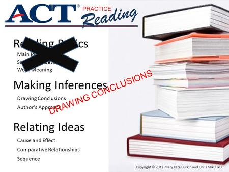 Reading Reading Basics Making Inferences Relating Ideas
