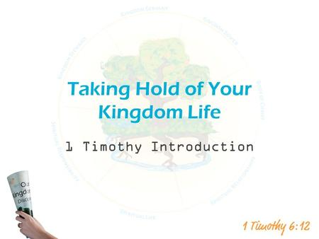 Taking Hold of Your Kingdom Life 1 Timothy Introduction.
