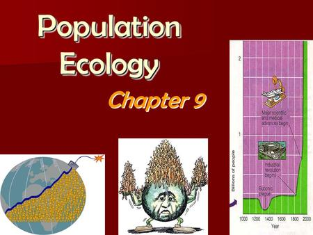 Population Ecology Chapter 9. Ch 9: Population Ecology How do populations change in structure in response to environmental stress? How do populations.