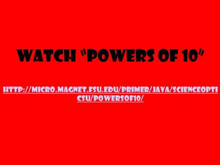 "Watch ""Powers of 10""  csu/powersof10/"