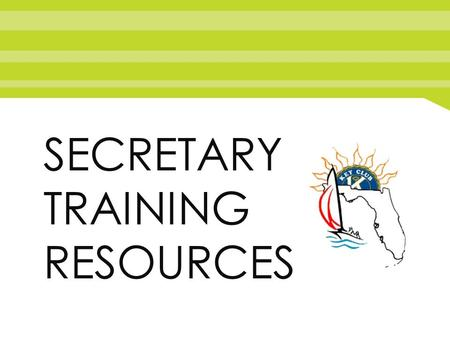 SECRETARY TRAINING RESOURCES. Responsibilities Main JobMain Job A secretary's main duties are to keep track of all of the service hours performed by.