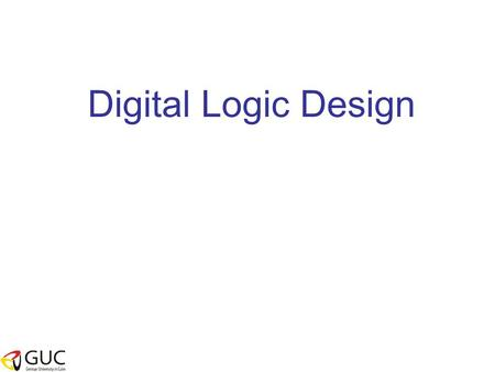 Digital Logic Design. Example 1 Find a function to detect an error in the representation of a decimal digit in BCD. In other words, write an equation.