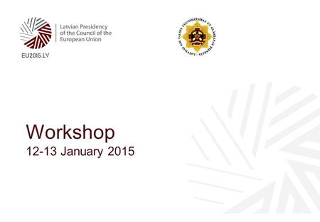Workshop 12-13 January 2015. 2 Needs of persons with disabilities throughout disaster management cycle.