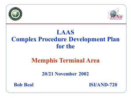 Complex Procedure Development Plan