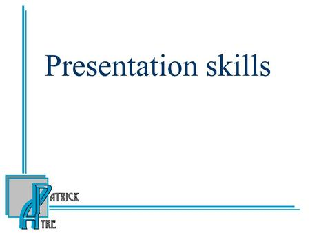 Presentation skills. Preparing a presentation Decide the objectives, what do you want to achieve? Analyse the audience, what do they want? Gather and.