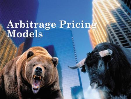 Comm 324 --- W. Suo Slide 1. Comm 324 --- W. Suo Slide 2 Arbitrage Pricing Theory Arbitrage - arises if an investor can construct a zero investment portfolio.