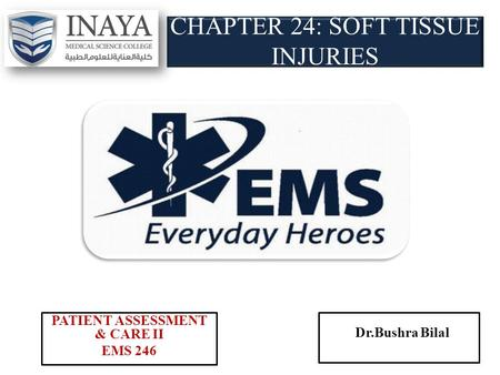 CHAPTER 24: SOFT TISSUE INJURIES